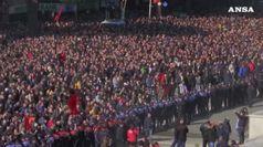 Scontri a Tirana, opposizione assalta sede del governo