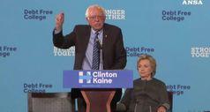 Bernie Sanders ci riprova, 'mi candido e batto Trump'