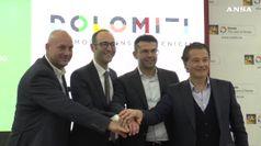 Le Dolomiti bellunesi lanciano nuovo logo turistico