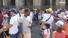 In 2017 piu' turisti stranieri che italiani