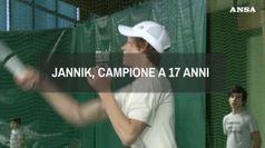 Jannik, campione a 17 anni
