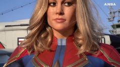 Captain Marvel al Madame Tussauds di New York
