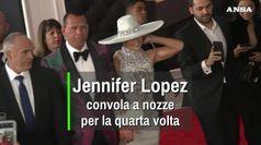Jennifer Lopez si sposa per la quarta volta