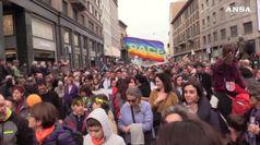 'People', marcia antirazzista a Milano, 200 mila in piazza