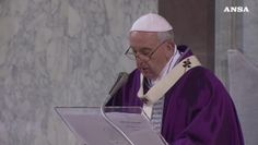 Ceneri, il Papa: