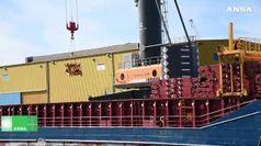 Ponte Genova: arrivate in porto maxigru da Olanda