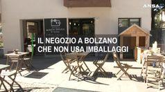 A Bolzano il negozio che non usa imballaggi