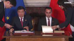 Via della Seta, fra Italia e Cina accordi per 20 miliardi