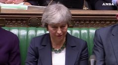 Brexti, parlamento britannico boccia il 'no deal'