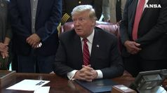 Trump mette suo primo veto, a difesa emergenza muro