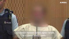 Nuova Zelanda, Brenton Tarrant in tribunale