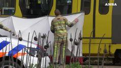 Spari su un tram a Utrecht