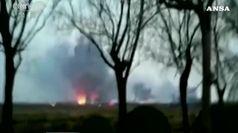Cina, esplosione in un impianto chimico