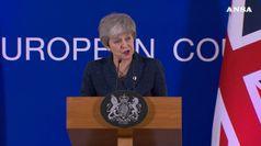Brexit, May: terzo voto su accordo solo se c'e' sostegno