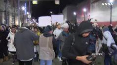 Usa, protesta a Pittsburgh per assoluzione poliziotto