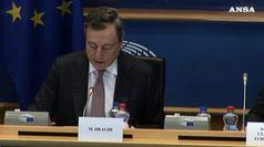 Draghi: Italia tra cause rallentamento pil Ue