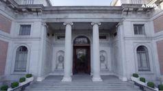 Tra i corridoi del museo del Prado