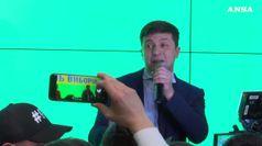 Ucraina, Proiezioni: Zelensky in testa col 30%