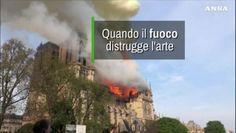 Quando il fuoco distrugge l'arte