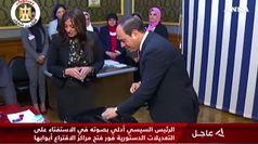 Egitto, referendum su al-Sisi fino al 2030