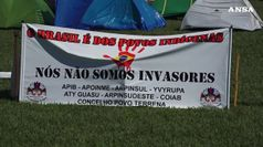Brasile, gli indigeni nella spianata dei ministeri