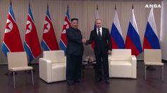 In corso a Vladivostok il primo vertice tra Kim e Putin