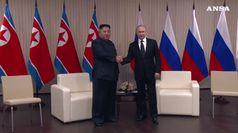 Terminato il vertice tra Kim e Putin