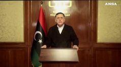 Sarraj attacca Parigi, 'sostiene il dittatore Haftar'