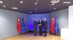 Mercati aperti e reciprocita', distensione Ue-Cina