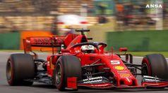 Scambio di posizioni tra Ferrari e Mercedes nelle libere