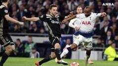 Champions League, Aiax-Tottenham 1-0 nella semifinale di andata