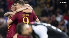 Roma batte 2-0 la Juve all'Olimpico