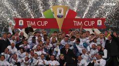 La Lazio batte l'Atalanta e conquista la sua 7/a Coppa Italia