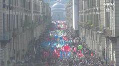 Torino, il corteo del Primo maggio