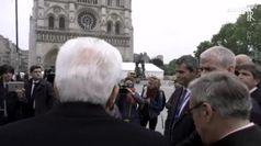 Mattarella, a Notre-Dame per amicizia Italia-Francia