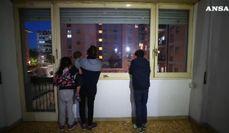 Roma, la paura della famiglia rom minacciata