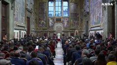Il Papa incontra 500 tra rom e sinti in Vaticano