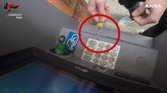 Roma, Carabinieri bloccano clonatori di bancomat
