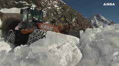 Oltre 12 metri di neve al passo Rombo