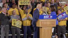 Febbre 2020, Biden accolto da rock star