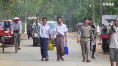 Birmania, rilasciati reporter Reuters