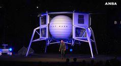 Spazio: Bezos sogna e presenta il suo veicolo lunare