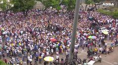 Venezuela, Guaido' chiama un intervento militare Usa