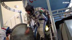 AstroLuca pronto a nuove passeggiate spaziali