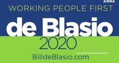 Usa, De Blasio annuncia la corsa per la Casa Bianca