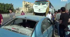 Egitto, ordigno esplode in strada presso Piramidi Giza