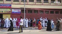 L'India chiude la maratona elettorale