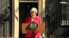 Brexit, Theresa May si dimette il 7 giugno