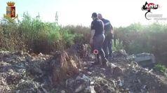 Sversamenti rifiuti illeciti nel Lazio e in Campania