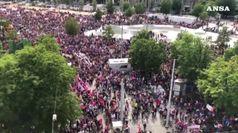 Onda viola, svizzere in sciopero per parita'